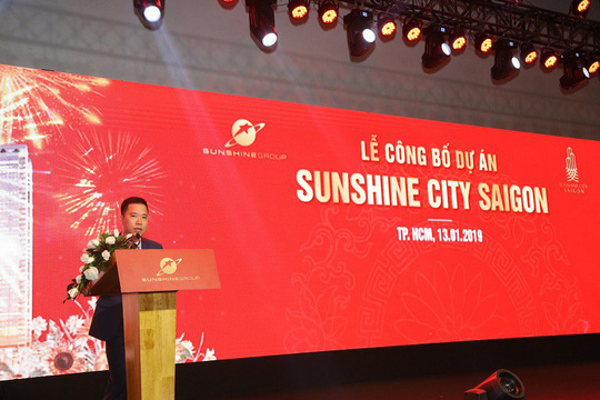 cong bo du an sunshine city saigon